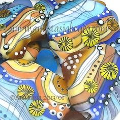 "Anastasia Lampwork Beads 7 ""Beach Walk"" SRA | eBay  http://www.ebay.com/itm/261161684892?ssPageName=STRK:MESELX:IT&_trksid=p3984.m1555.l2649"