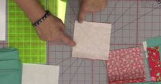 Jenny Starts With Half Square Triangles And Gets A New Twist From A Classic Block!