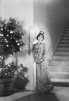 1936 - Coco Chanel by Cecil Beaton