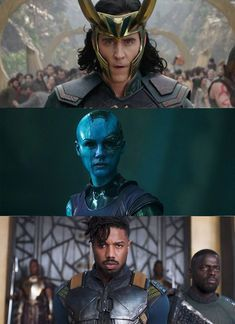 "I got ""Loki, Nebula, and Killmonger""!"