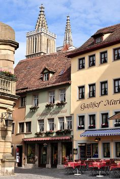 Marktplatz Rothenburg   Germany