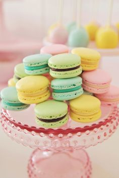 pastel macs - one day I will master making these...