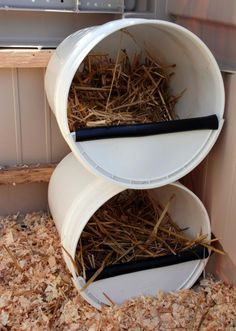 nestbox made of a bucket