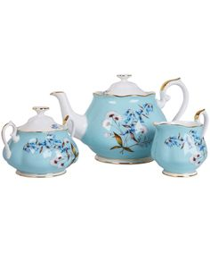 1950 Festival Three Piece Tea Set, Royal Albert. Shop more from the Royal Albert collection at Liberty.co.uk