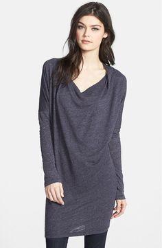 VELVET By Graham & Spencer Qwanda Long Sleeve Cotton Slub Sweater Top Red S $99 #Velvet #Tunic #Casual