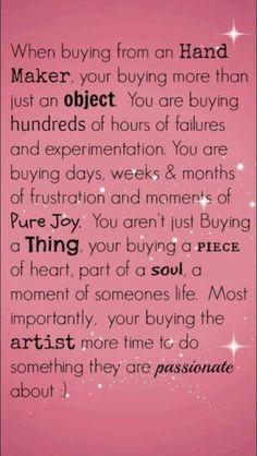 Craft quotes creativity inspiration etsy Ideas for 2019 Quilting Quotes, Sewing Quotes, Craft Quotes, Creativity Quotes, Jewelry Quotes, Craft Business, Baking Business, Business Quotes, Handmade Crafts
