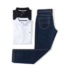 Verão 2016 | Still Moda Masculina | Toulon | Jeans e Polo Básica