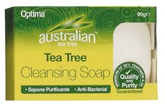 Australian Tea Tree Cleansing Soap - Australian Tea Tree Cleansing Soap is a deep cleansing bar which utilises the antiseptic and antibacterial properties of Tea Tree oil.  This cleansing soap bar is suitable for all skin types, with extra benefit to those with problem skin. After use the skin is left feeling clean, soft and refreshed. Australian Tea Tree, Tea Tree Oil, Skin Problems, Bar Soap, Soap Making, Whitening, Cleanse, Feelings, How To Make