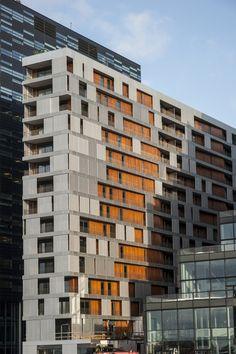 Residential building in Oslo, Norway by MAD Arkitekter