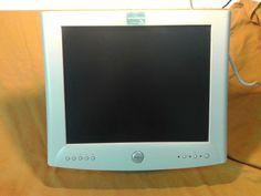 monitor Dell 1701fp,lcd,dvi,vga,schermo,dislay per pc fisso,17 pollici,1280x1024
