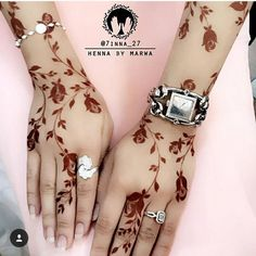 "1,515 Likes, 13 Comments - Umm Ra'ed ام رائد (@rifas_henna_alain) on Instagram: ""contact for henna services, Call/ whatsapp:0528110862, Regular, Bridal henna available, Al Ain, UAE"""