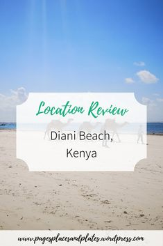 It may not be the first place that comes to your head when you think of beach holidays, but Kenya's Diani Beach is a stunning location that should seriously be on your bucket list. Find out more here: Best Places To Travel, Cool Places To Visit, Places To Go, Amazing Destinations, Travel Destinations, Diani Beach Kenya, Family Holiday Destinations, Kenya Africa, The Beach Boys