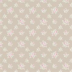 Tilda Sweet Christmas Fabric - Jane Warm Grey