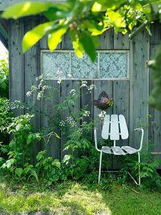 Bruktfunn i hagen