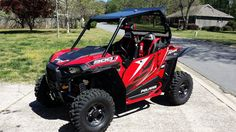 Used 2015 Polaris RZR S 900 EPS ATVs For Sale in Georgia. <i><b>2015 POLARIS RZR S900 RED </b></i>- IMMACULATE - Later production <b>build date 4/28/15</b> - Kept inside heated & ac garage - Meticulously built with the highest quality accessories available - 17.1 hrs/127 mi - Most in neighborhood with granddaughter - <b>Polaris Protection Extended Service Contract thru 5/18/18</b> w/$40 transfer fee - <b>ACCESSORIES:</b> <b>TrailArmor</b> mudflap fender extensions - <b>DragonFire</b> front…