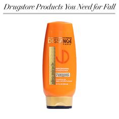 Overprocessed, damaged ends got you in a hair rut? This nourishing oil conditioner will help bring healthy hair back - Dessange Paris Oleo Miracle Replenishing Conditioner, $9.99.