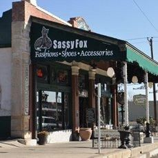 store front1 - Best Shopping in West Texas! Sassy Fox Boutique, in Historic Downtown San Angelo, Texas.