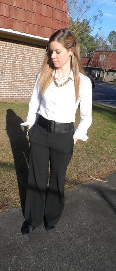 Classic Work Fashion Life Style Blog-Black and White
