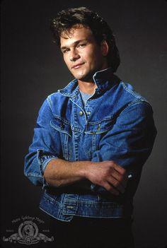 Patrick Swayze. I had this very picture when I was a kid. I loved Patrick Swayze before anyone else did.