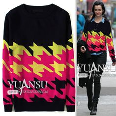 Find More Information about Yuansu Store new 2014 Myvatn elegant multicolour check fashion women's blue O neck pullover long sleeve wool sweater,High Quality sweater purse,China sweater bat Suppliers, Cheap sweater winter from yuansu  on Aliexpress.com
