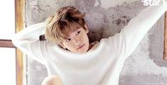 star1 Magazine, August 2015 Issue : Shooting Sketch - Baekhyun (8/10)