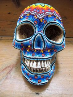 Cráneos Huicholes x Our exQuisite Corpse.