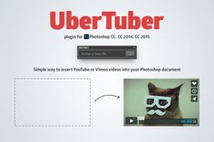 UberTuber plugin for Photoshop by UberPlugins on Creative Market
