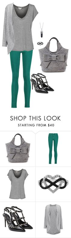 """Sem título #1243"" by mprocedi ❤ liked on Polyvore featuring Kate Spade, Acne Studios, Jewel Exclusive, Valentino, Splendid and Bridge Jewelry"