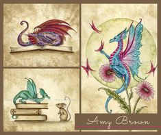 Officially licensed Amy Brown fantasy art - dragons, fairies, mermaids, & more!