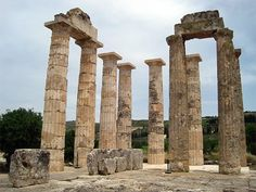 Nemea Greece where Herakles killed the lion and made his famous cape