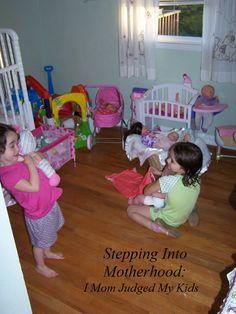 Stepping Into Motherhood: I Just Mom Judged My Kids