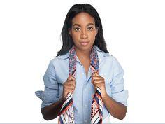 Master These 7 Cool Girl Ways To Tie A Scarf  - HarpersBAZAAR.com