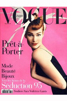 Mario Testino's first Vogue France cover