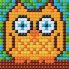 #pixel #gift #pixel.gift #pixelhobby #pixelen #xl #creatief #knutselen #doe-het-zelf #owl #uil