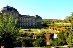Würzburg Residence with the Court Gardens and Residence Squar