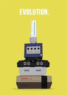 Nintendo Evolution. See More at https://www.facebook.com/iloveoldschoolgames