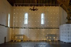 Wedding lighting at Ufton Court by Oakwood Events. Including fairy lights, festoon lights, paper lanterns, uplighting and more. Festoon Lights, Paper Lanterns, Fairy Lights, Vintage Looks, Backdrops, Barn, Curtains, Rustic, Lighting