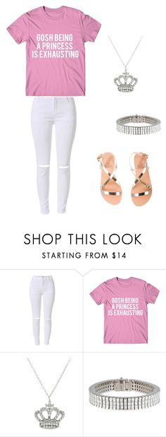 """""""freshman"""" by lashay4240 on Polyvore featuring Eternally Haute and Ancient Greek Sandals"""