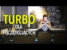 ODCHUDZAJĄCY TRENING TURBO DLA POCZĄTKUJĄCYCH Z ROZGZEWKĄ I ROZCIĄGANIEM - YouTube Zumba, Cardio, Bodybuilding, Weight Loss, Sports, Cos, Youtube, Exercises, Diet