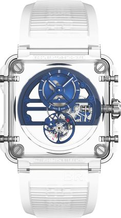 Bell & Ross BR-X1 Tourbillon Sapphire. Reminds me of R2-D2.