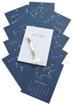 Stitch Upon the Stars 2015 Calendar | Such a great gift