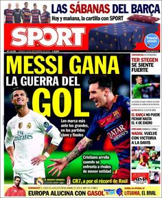 Portada Sport 19/09/2015