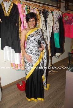 Mandira Bedi in Masaba