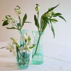 Telysestake Belinda mint | Kremmerhuset #Kremmerhuset #Interior #Inspiration Decor, Vase, Glass Vase, Glass, Mint, Home Decor