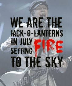 Fall Out Boy Song Lyrics Quotes