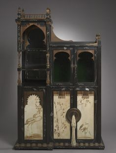 Cabinet Carlo Bugatti, 1895 The Cleveland Museum of Art
