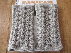 Blij dat ik brei: Beenwarmers Wrist Warmers, Boot Cuffs, Needlework, Knitwear, Knit Crochet, How To Make, How To Wear, Knitting, Handmade