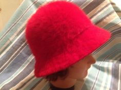 Kangol Design Red Angora Blend Hat Made in England Red Angora Hat Ladies Red Hat by VeryVintageCanadian on Etsy Make Arrangements, Red Hats, Vintage Hats, Hat Making, Craft Items, England, Touch, Lady, Design