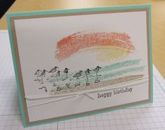 Stampin Up Work of Art stamps