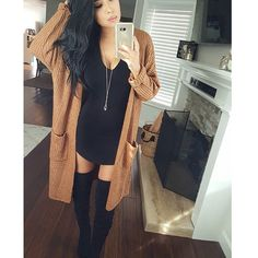 Can we take a moment to fall in love with this cardigan So soft & cozy Cardigan (melody cardigan) use DC Cute Comfy Outfits, Cute Fall Outfits, Fall Winter Outfits, Classy Outfits, Chic Outfits, Autumn Winter Fashion, Spring Outfits, Fashion Outfits, Comfy Clothes